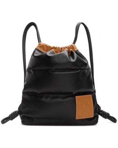 Plecak pikowana brezentowy Loewe
