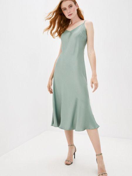 Зеленое платье B.young