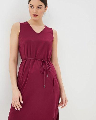 Платье - бордовое Jack Wolfskin