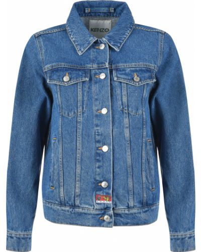Синяя куртка Kenzo
