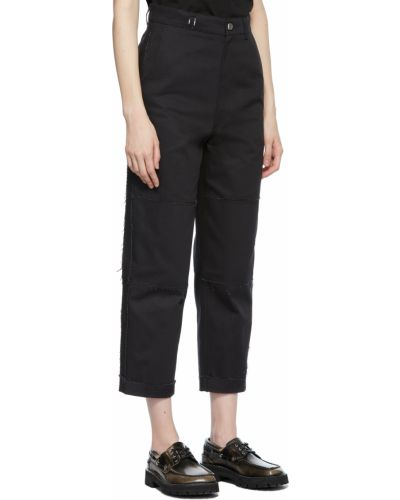 Spodnie skorzane - czarne Ader Error