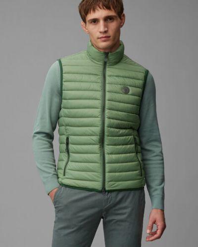Zielona kamizelka pikowana Marc O Polo