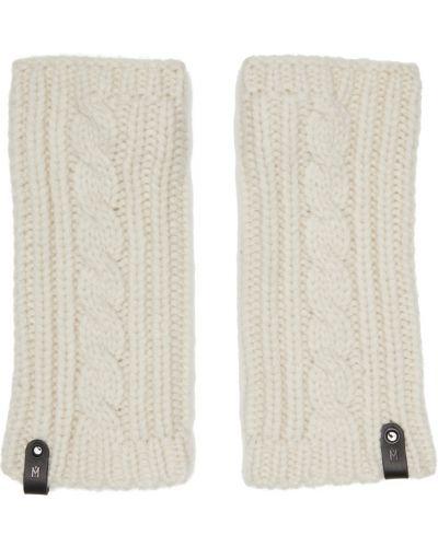 Rękawiczki bez palców - białe Mackage