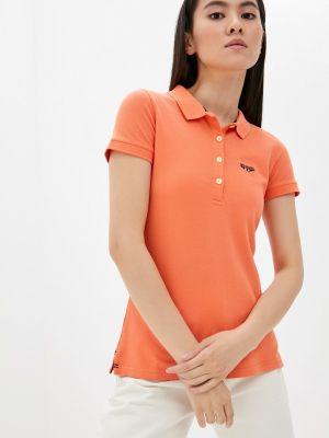 Поло - оранжевый Galvanni