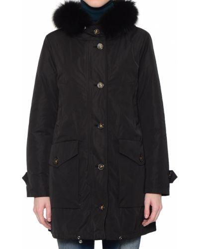 Нейлоновая черная куртка Marella