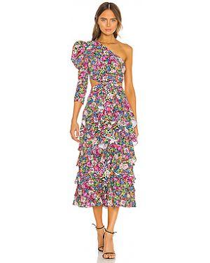 Платье миди на молнии из вискозы Mergim
