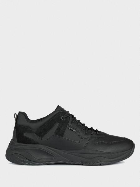 Текстильные кроссовки - черные Geox