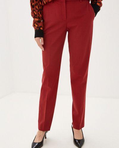 Классические брюки бордовый красный Theory