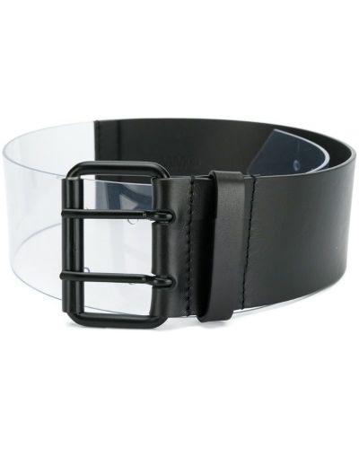 Ремень прозрачный черный Mm6 Maison Margiela