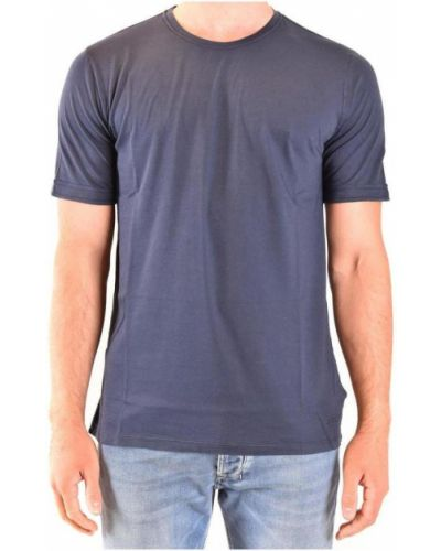 Niebieska t-shirt Zanone