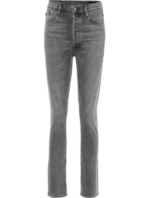 Szare jeansy bawełniane Goldsign