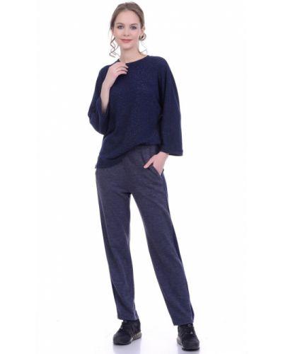 Прямые трикотажные брюки с поясом Lautus