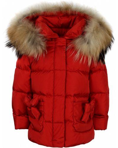 Красная куртка Il Gufo