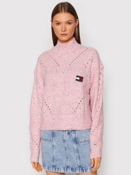 Golf - różowy Tommy Jeans