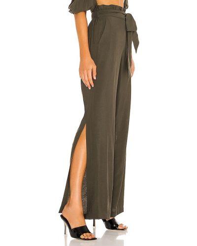 Bawełna bawełna spodnie palazzo elastyczny w połowie kolana Jonathan Simkhai