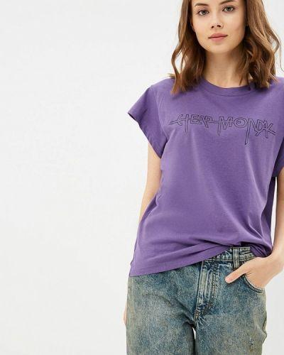Фиолетовая футболка Cheap Monday