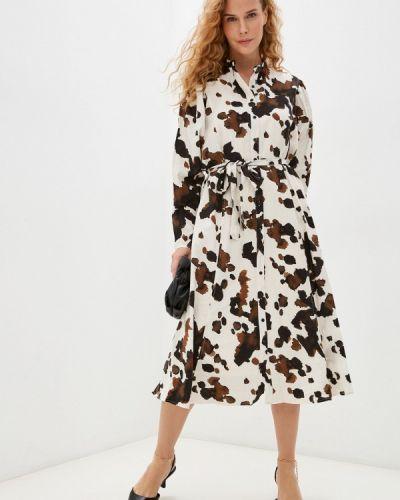 Прямое платье - белое Ichi