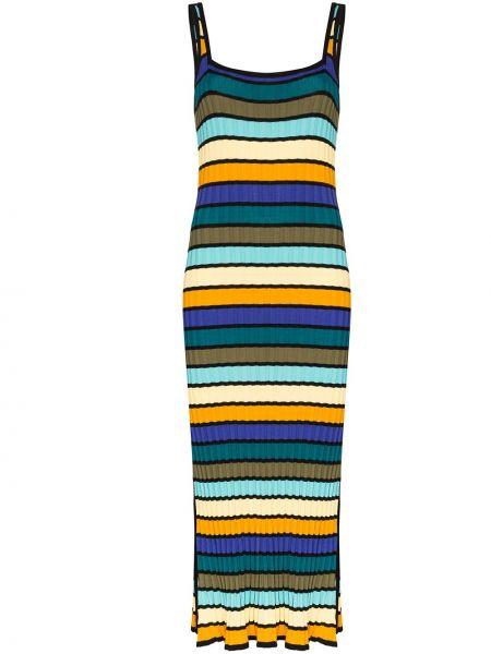 Пляжное платье в полоску в рубчик Solid & Striped