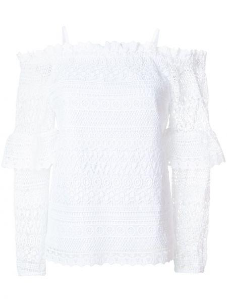 Кружевная блузка - белая Steffen Schraut