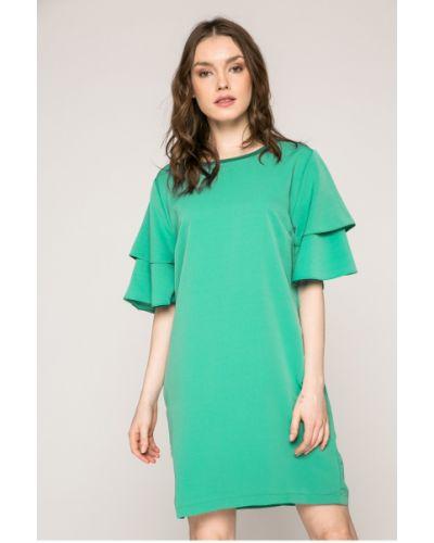 Платье мини с карманами однотонное Answear