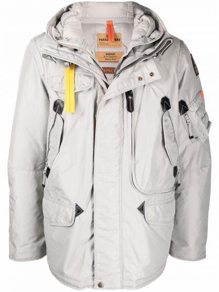Пуховая куртка - серая Parajumpers