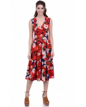 Платье ниже колена Lautus