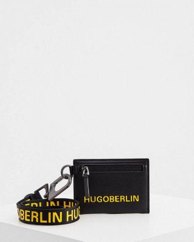 Черный кошелек Hugo