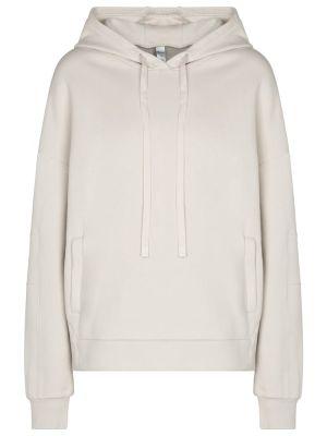 Biała ciepła bluza bawełniana Alo Yoga