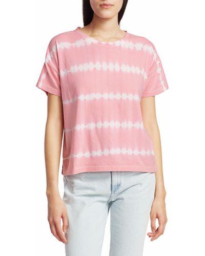 Хлопковая футболка в полоску с короткими рукавами Rails