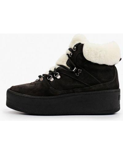 Серые резиновые ботинки Roobins