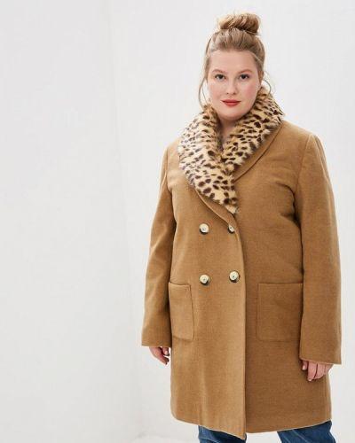 Пальто бежевое пальто Style National