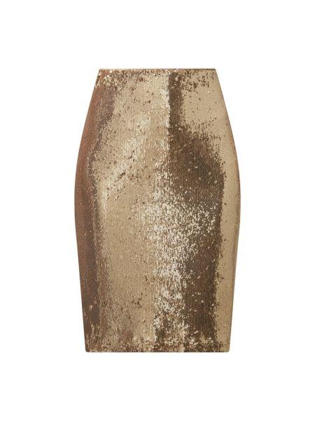 Złota spódnica ołówkowa z cekinami Jake*s Collection