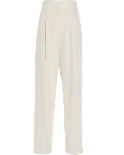 Białe spodnie Theory