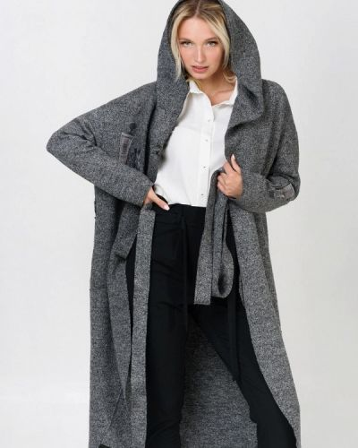 Пальто демисезонное серое Ricamare