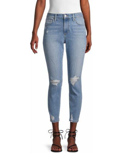 Синие хлопковые джинсы Joe's Jeans