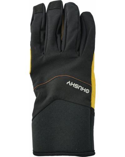 Rękawiczki skorzane - szare Husky