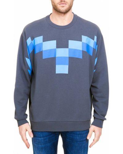 Szary sweter Marcelo Burlon