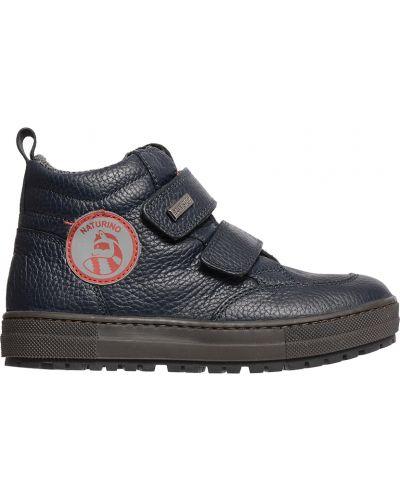 Синие ботинки Naturino