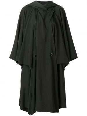 Зеленый плащ винтажный Issey Miyake Pre-owned