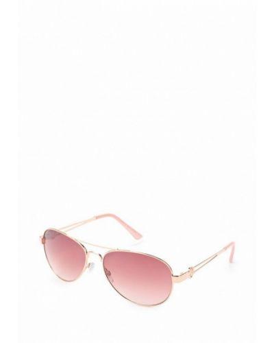 Солнцезащитные очки золотого цвета River Island