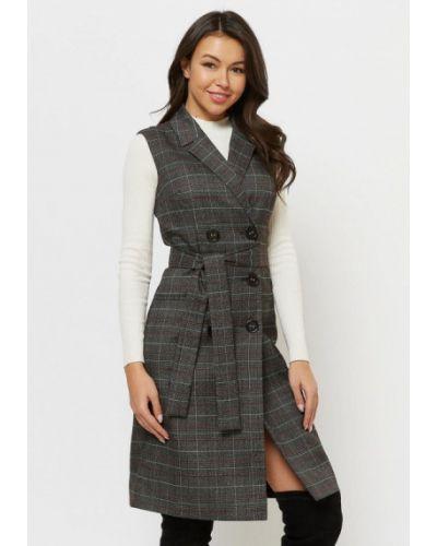 Платье серое платье-пиджак Verna Sebe