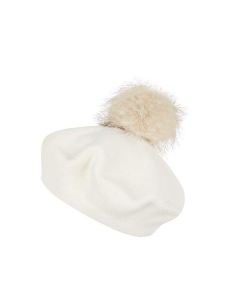 Biały futro wełniany Loevenich