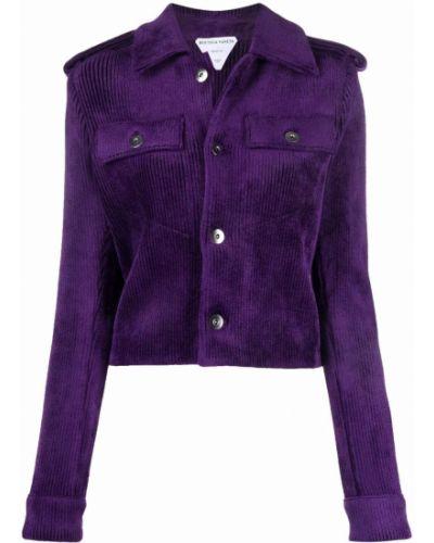 Куртка вельветовая - фиолетовая Bottega Veneta