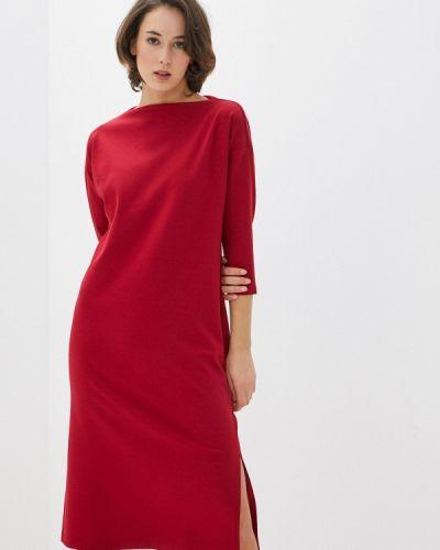 Базовое прямое красное платье Base Forms