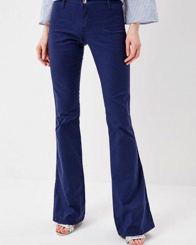 Расклешенные джинсы широкие Met