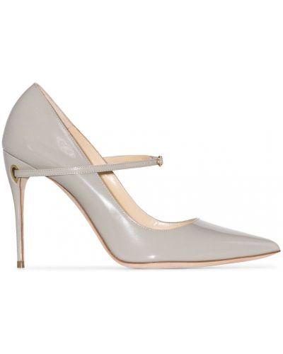 Серые туфли-лодочки Jennifer Chamandi