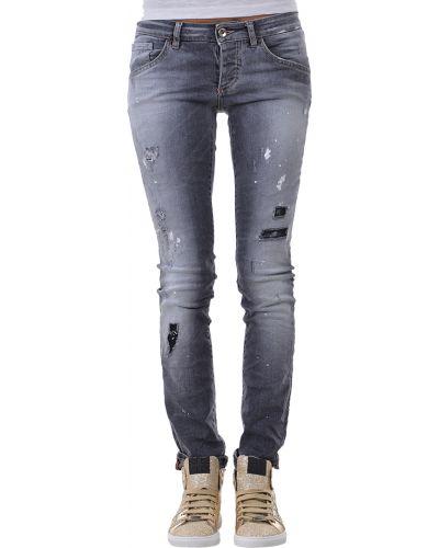 Серые джинсы Patrizia Pepe