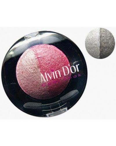 Серые тени для век Alvin D'or