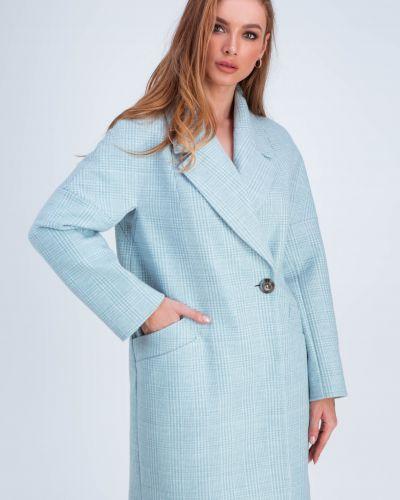 Пальто оверсайз - голубое Emass