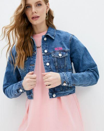 Синяя джинсовая куртка Gcds
